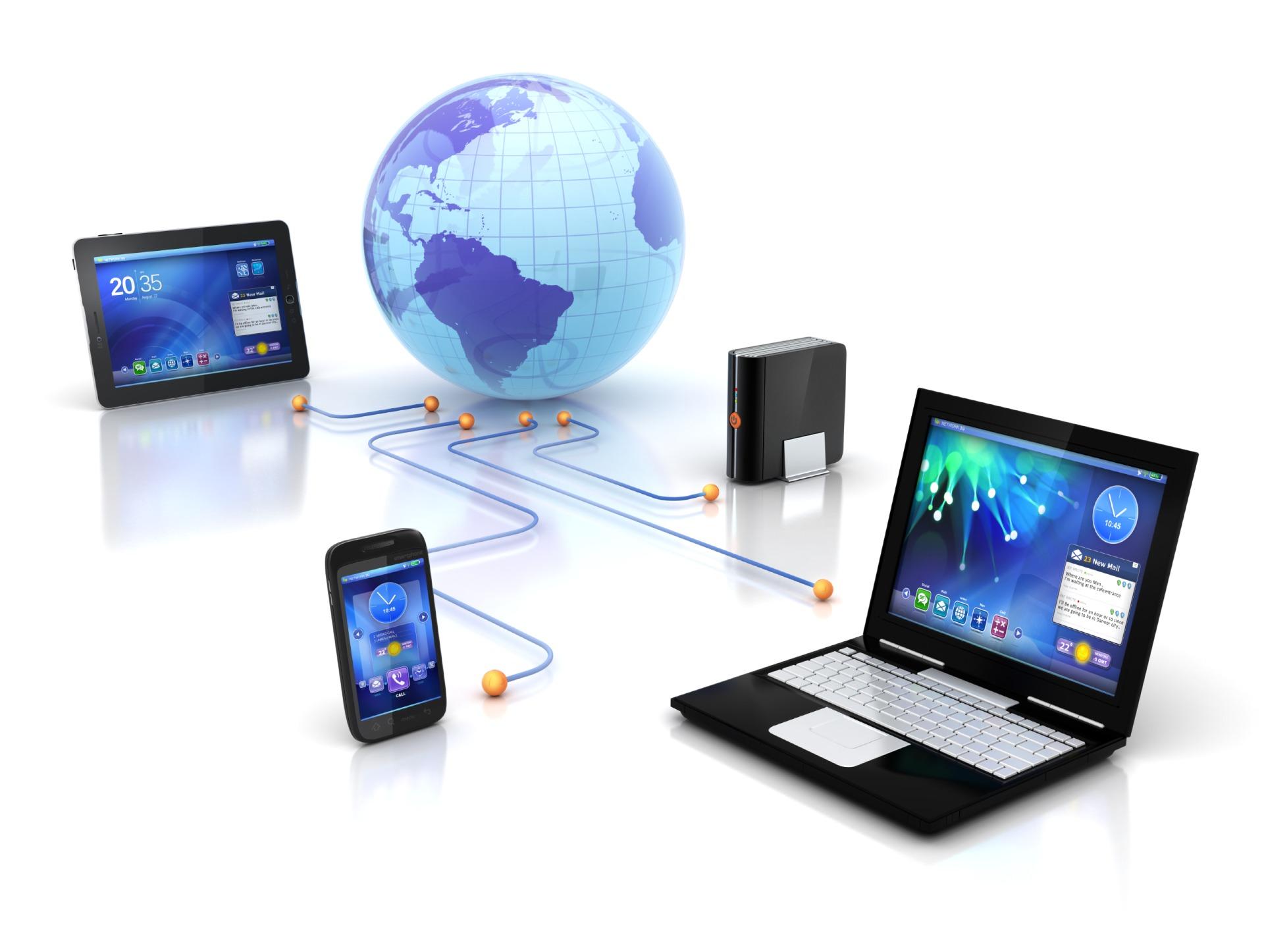 компьютер и интернет пользователи