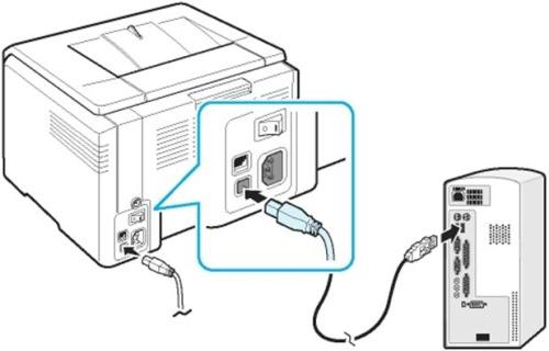 Подключение принтера и других периферийных устройств